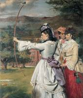 William Powell Frith~The Fair Toxophilites (or Eng