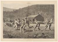 Winslow Homer~Snap the Whip, from Harper's Weekly,