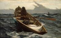 Winslow Homer~The Fog Warning