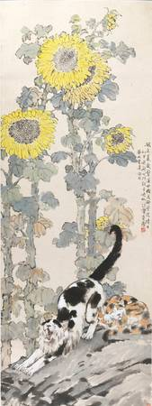 Xu Beihong~Lazy Cats