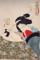 Yoshitoshi~Warm An Urban Widow of the Kansei Perio