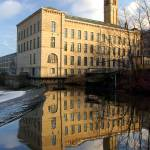 """New Mill Reflected"" by PaulStevenson"