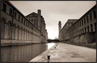 Salts Mill & New Mill Sepia