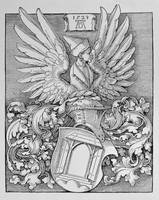 Albrecht Dürer~Coat of Arms of the Durer Family, w