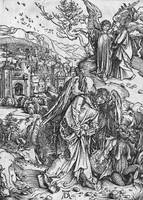Albrecht Dürer~Scene from the Apocalypse,