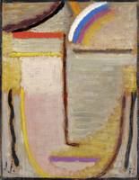 Alexei Jawlensky~Abstract Head
