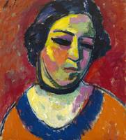 Alexei Jawlensky~Portrait of a Woman