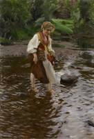 Anders Zorn~The Girl from Älvdalen