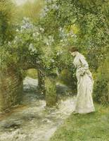 Arthur Hopkins~The Mill Stream in Spring