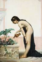 Auguste Raynaud~Tending the Garden