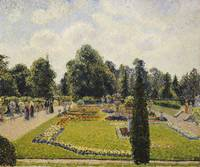 Camille Pissarro~Kew Gardens, the Path to the Main