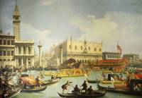 Canaletto~The Betrothal of the Venetian Doge to th