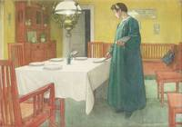 Carl Larsson~The Household (Lisbeth Setting the Ta