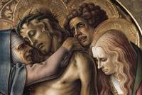 Carlo Crivelli~Detail of Pieta