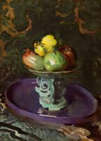 Cecilia Beaux~Still Life With Fruit