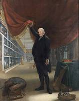 Charles Willson Peale~The Artist in His Museum