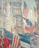 Childe Hassam~Allies Day, May 1917