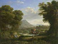 Claude Lorrain~Saint George and the Dragon