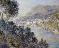Claude Monet~A View of Cape Martin, Monte Carlo