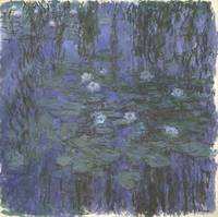Claude Monet~Blue Water Lilies