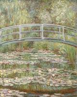 Claude Monet~Bridge over a Pond of Water Lilies