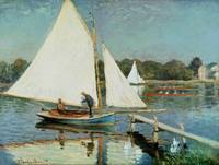 Claude Monet~Sailing at Argenteuil