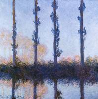 Claude Monet~The Four Trees