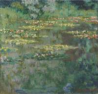 Claude Monet~Waterlilies or The Water Lily Pond (N