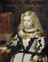 Diego Velázquez~Portrait of the Infanta Margarita