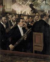 Edgar Degas~The Orchestra at the Opera