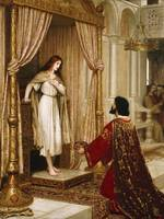 Edmund Blair Leighton~A King and a Beggar Maid