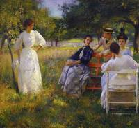Edmund Charles Tarbell~In the Orchard