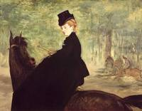 Edouard Manet~The Horsewoman
