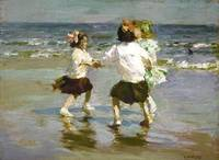 Edward Henry Potthast I~Ring around the Rosy
