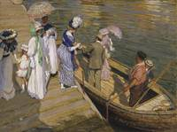 Emanuel Phillips Fox~The Ferry