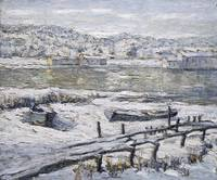 Ernest Lawson~Winter Landscape