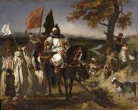 Eugène Delacroix~The Caid, Moroccan Chief
