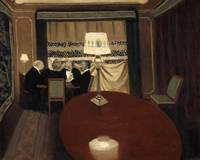 Félix Vallotton~The Poker Game