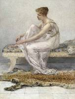 Francis Davis Millet~Woman on Divan