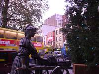 The Molly Malone statue