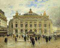 Frank Myers Boggs~Grand Opera House, Paris