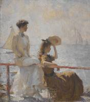 Frank Weston Benson~Summer Day