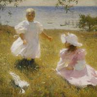 Frank Weston Benson~The Sisters