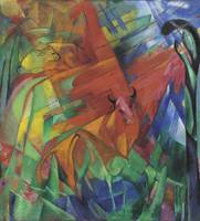 Franz Marc~Animals in a Landscape