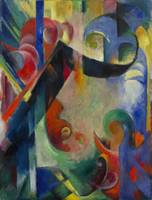 Franz Marc~Broken Forms