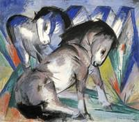Franz Marc~Two Horses