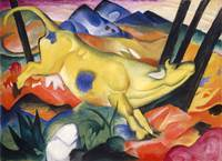 Franz Marc~Yellow Cow