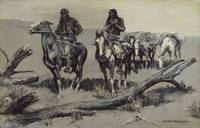 Frederic Remington~Dead Men (The Discovery)