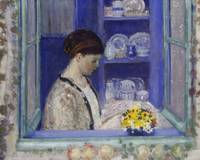 Frederick Carl Frieseke~Mrs