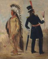 George Catlin~Wi-jún-jon, Pigeon's Egg Head (The